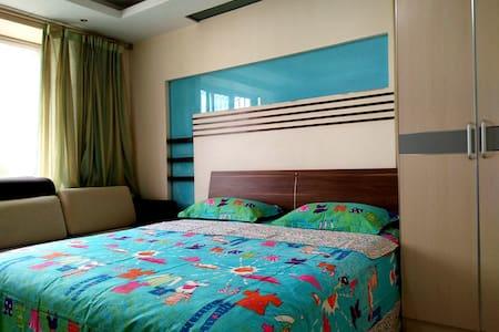 郑州人家-东风路轻院超级舒适的豪华大床房 - Zhengzhou - Apartemen