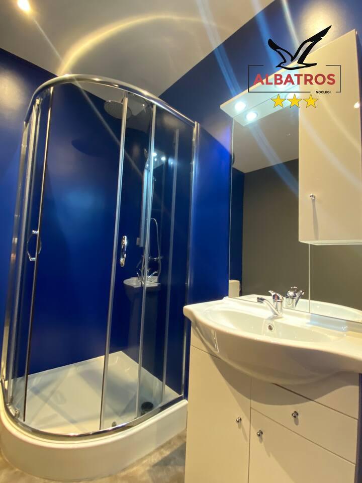 Hostel Albatros pokoje o wysokim standardzie