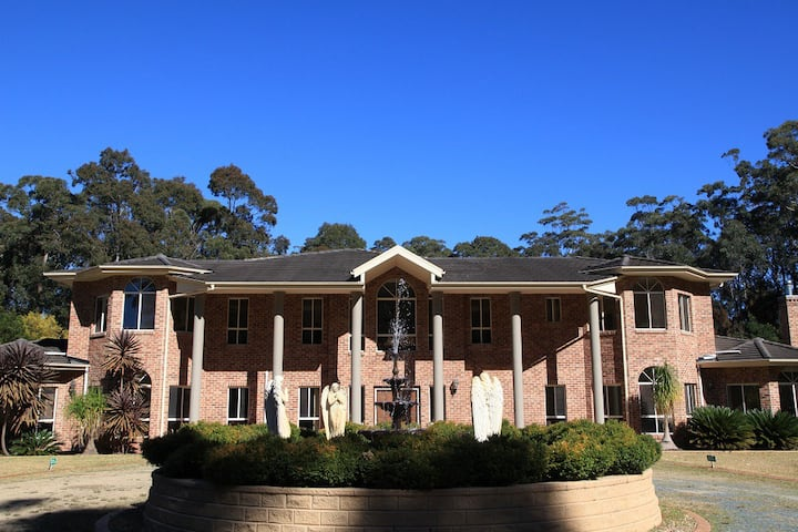 Coastal mansion on five acres