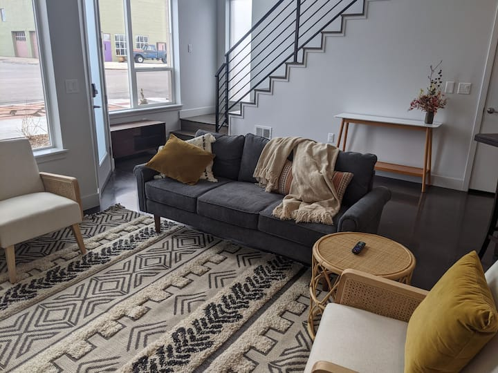 New Modern Townhome in RiNo Art District