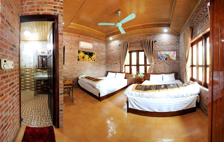 Friendly Homestay _ Deluxe Family Room