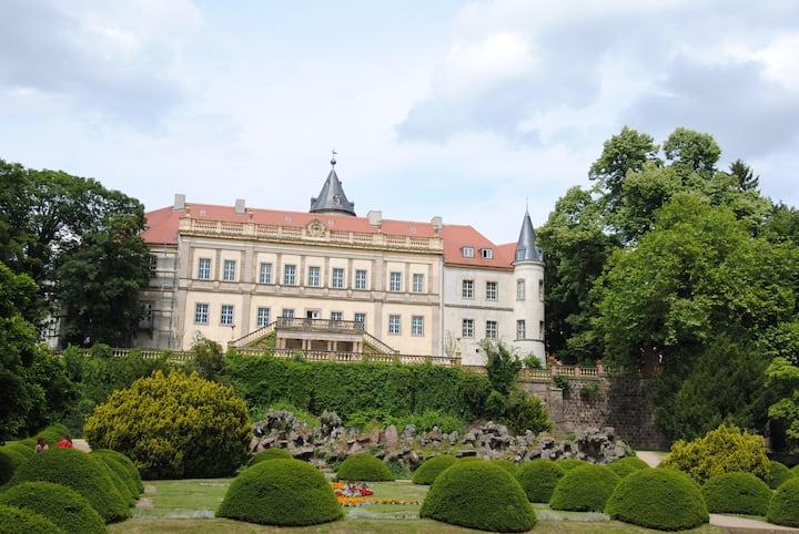 Märchenhafte Ferienwohnung im Schloss Wiesenburg