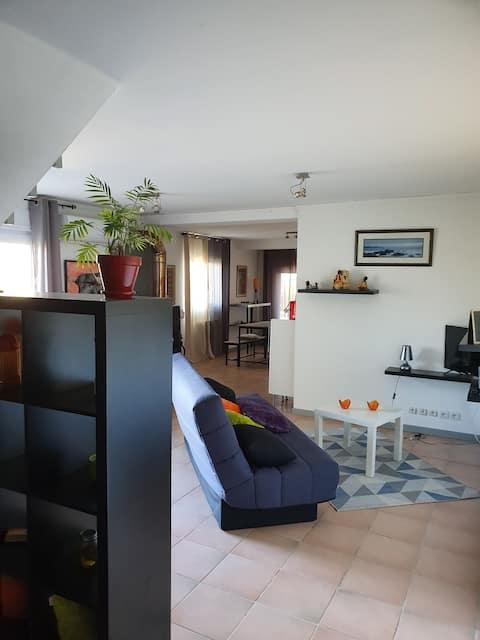 Appartement 80 m² au calme sur les hauteurs d'Auch