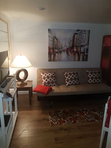 Newly renovated two bedroom cozy apt. Non Smoking