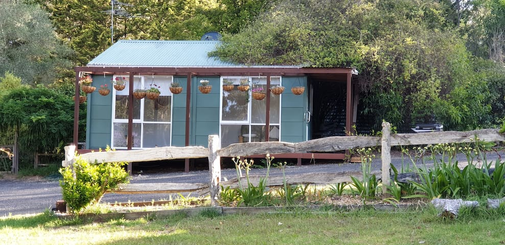 Bluemoor Cottage offers a comfortable stay with large opening windows and comfortable seating inside to view the native wildlife while enjoying the air conditioning on those chilly winter days or warm summer afternoons.