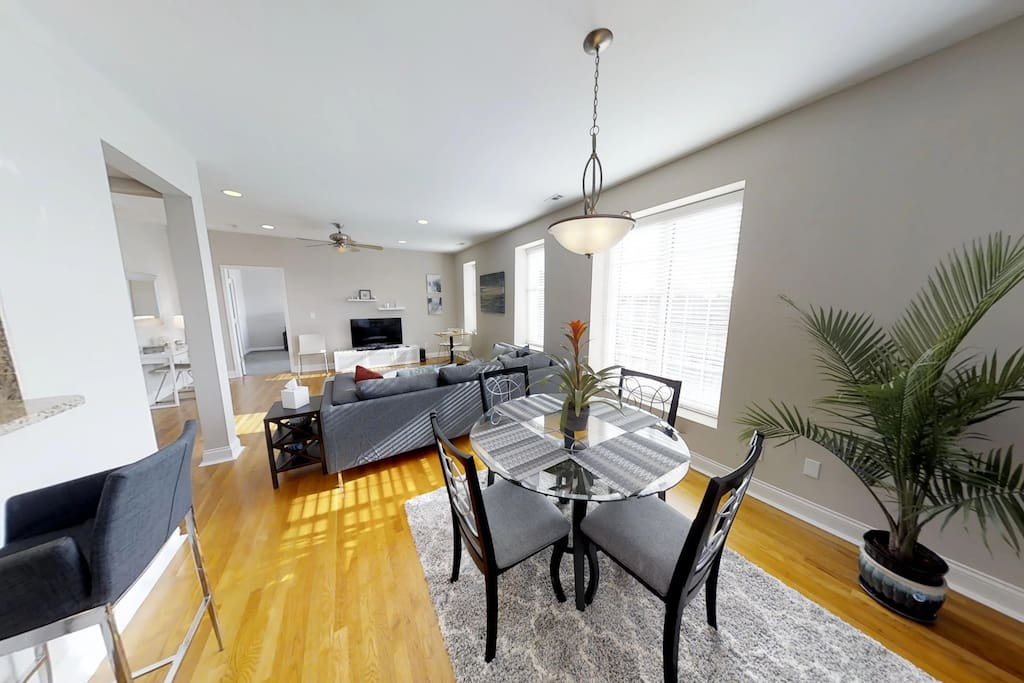Dining Room open to living area