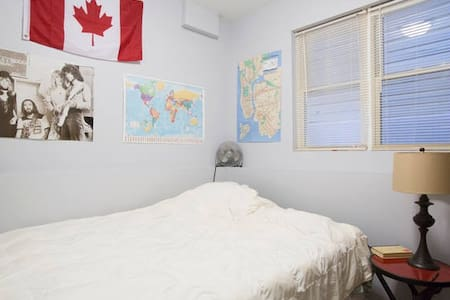 Geographer's Room 15 min to CENTER - Chicago - Apartment
