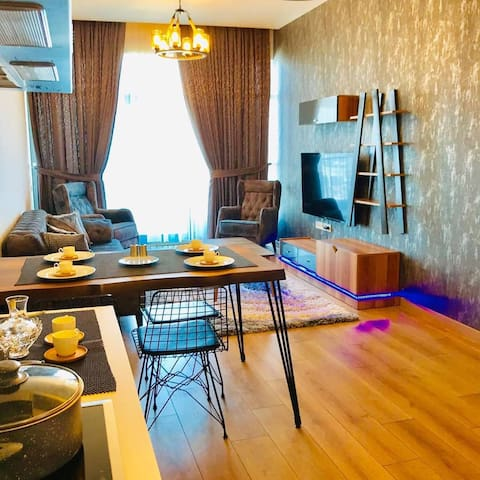 """super deluxe furnished flat in """"Mall of istanbul"""""""