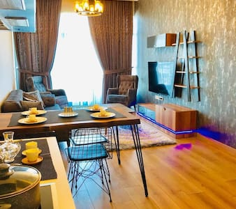 "super deluxe furnished flat in ""Mall of istanbul"""