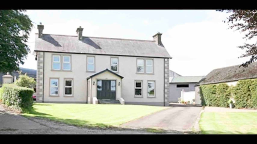 Spacious country house near Galgorm resort