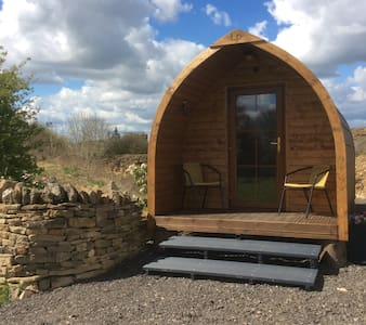 Eco log pod - Moreton in the Marsh