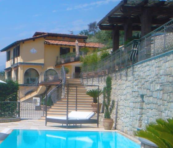 Lux Italian Villa Near Bordighera - Perinaldo - Casa de campo