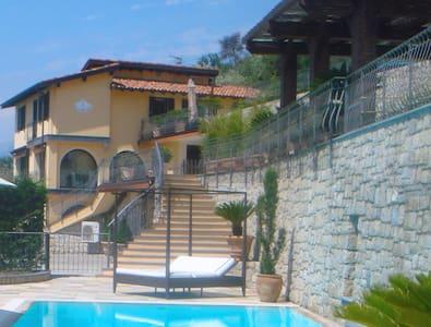 Lux Italian Villa Near Bordighera - Perinaldo