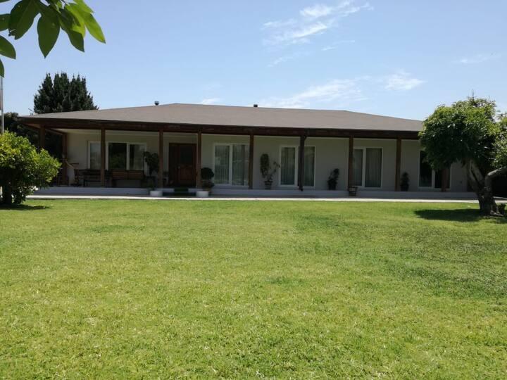 Casa parcela Limache centro