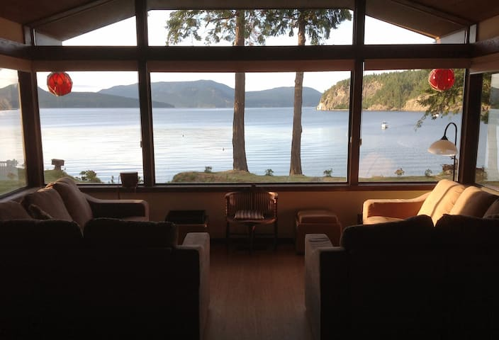 San Juan Islands Beachfront Sanctuary