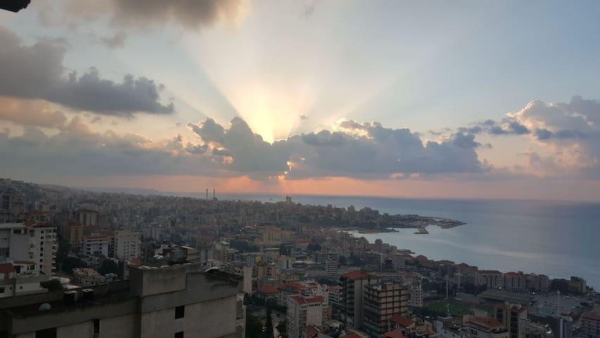 Jounieh (Harissa) Stunning View