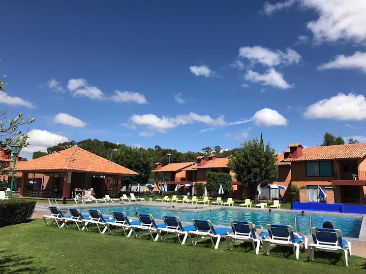 Hermosa Villa a 5 min. del centro de Tequisquiapan