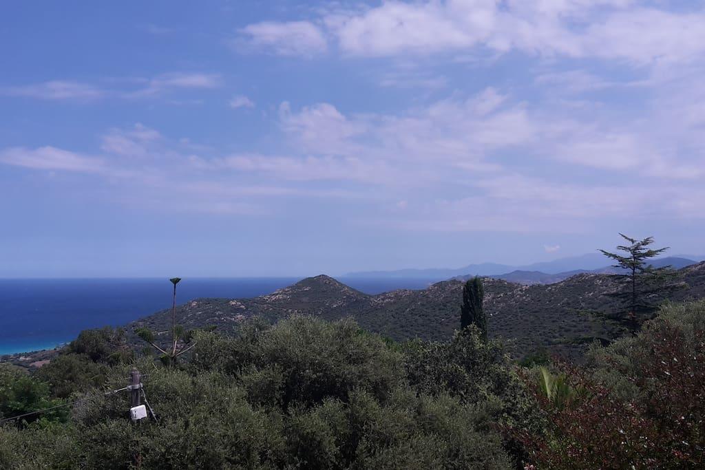 Vue Cap Corse
