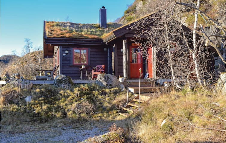Holiday cottage with 3 bedrooms on 76m² in Åseral