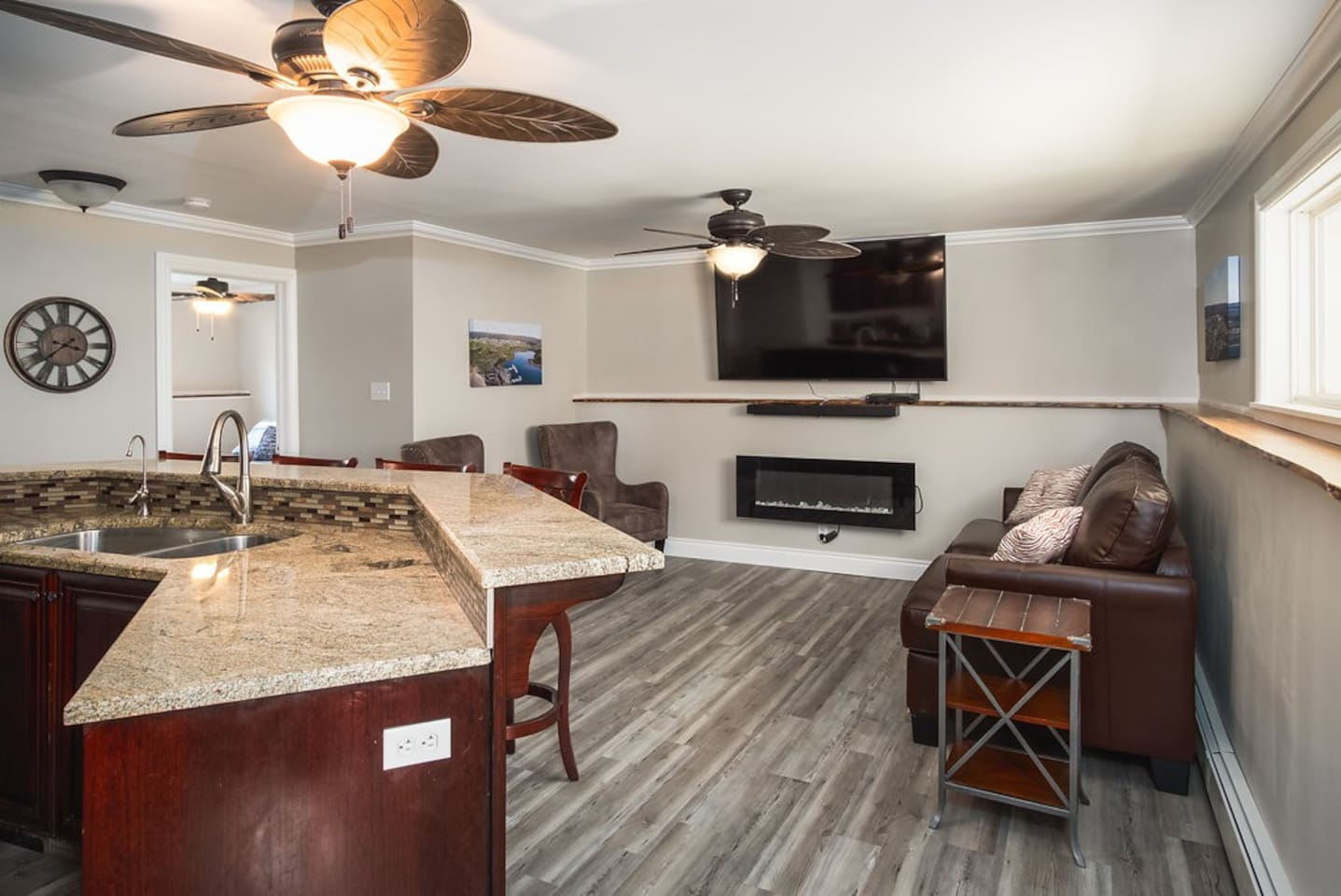 Newly renovated executive suite