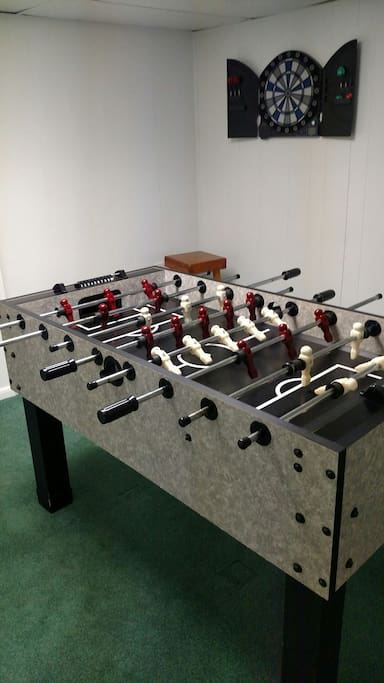 How about a little fooseball or a game of darts....