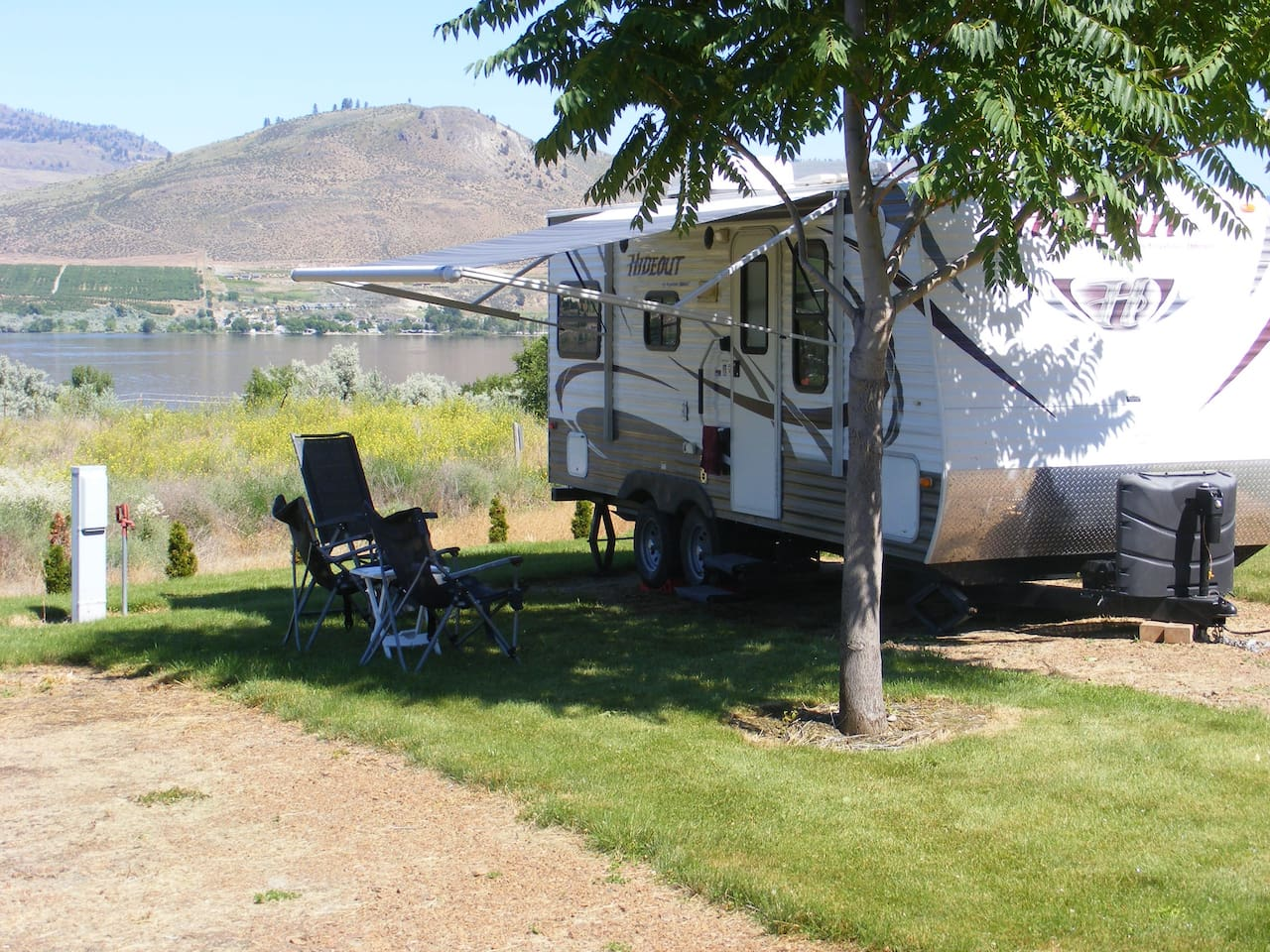 Sample location at Bains RV Park, but I can deliver it anywhere.