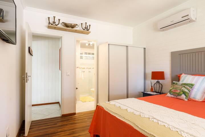 Suite dupla Biarritz da Pousada Beach House