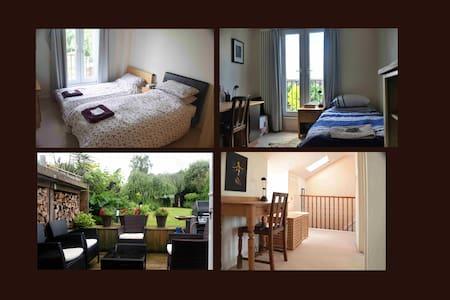 Two Rooms Pvt Bathroom; Garden ; Greater London - Beckenham - Loft