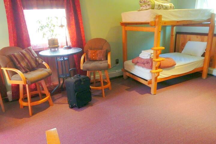 (A02) CoEd Main Dorm/Bunk Bed