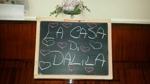 LA  CASA  DI  DALILA,  appartamento con 2 camere
