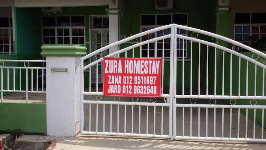 Zura Homestay - Friendly Neighborhood - Balok - Rumah