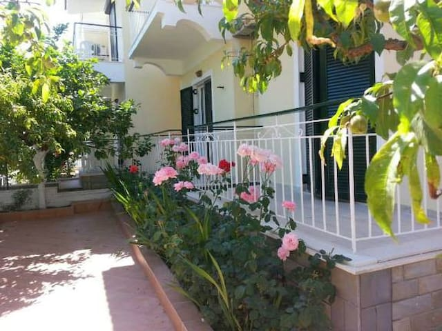 Cozy Studio 80 m from sea - Elenas Garden Pansion