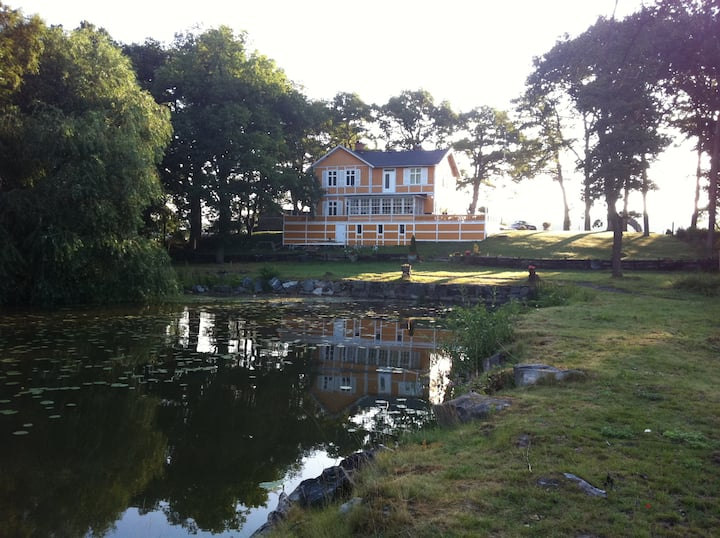 Villa Notudden at Mälarens Shore