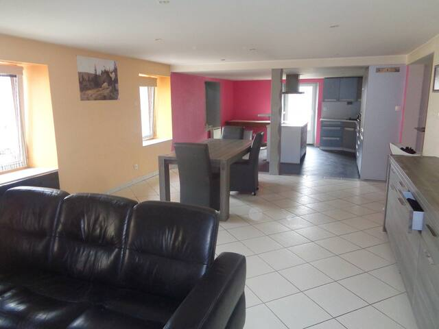 Grand appartement Hautes-Vosges