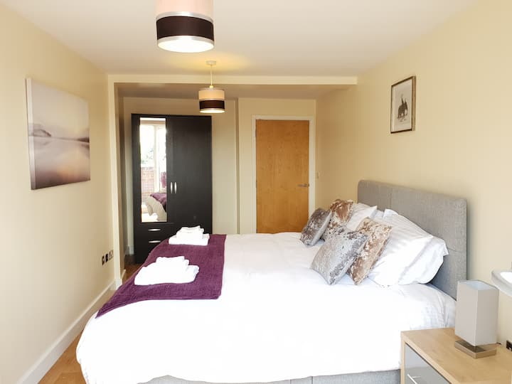 Modern Apartment in the Centre of Leicester City