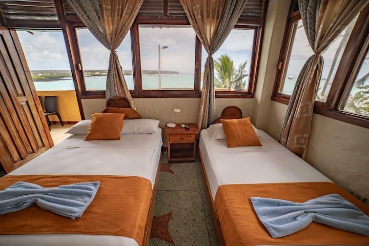 Hostal Estrella de Mar (Mix Double room sea view).