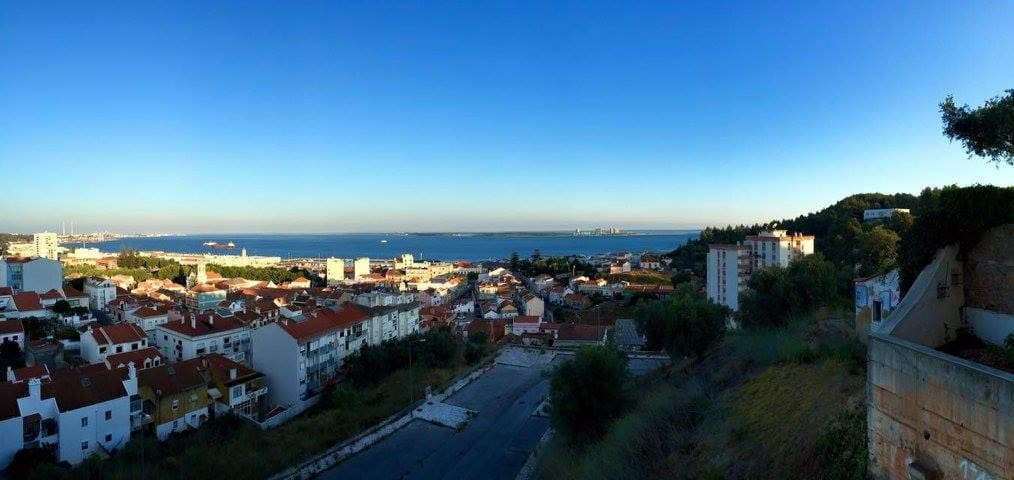 Ocean View Apartment in the heart of Setubal - Setúbal - Apto. en complejo residencial