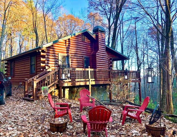 🎄 Cozy, Secluded Pinecone Cabin ⛄️ in Ellijay/BR ❄️