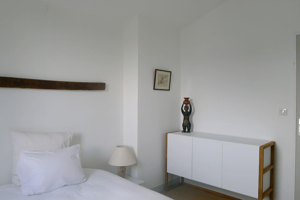 Votre chambre, d'une superficie de 10 m2.