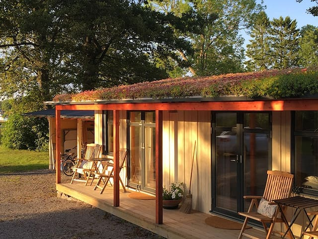 Relax at seaside archipelago cottage w own jetty