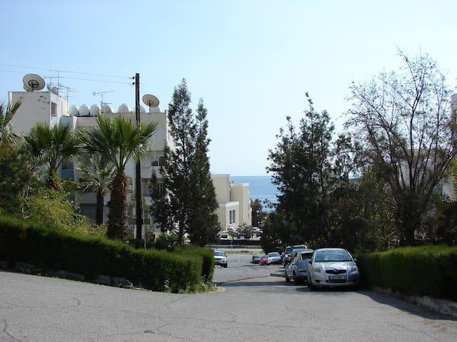 Уютные 1 сп. апартаменты рядом с пляжем (4 Сезона) - Agios Tychon - Leilighet