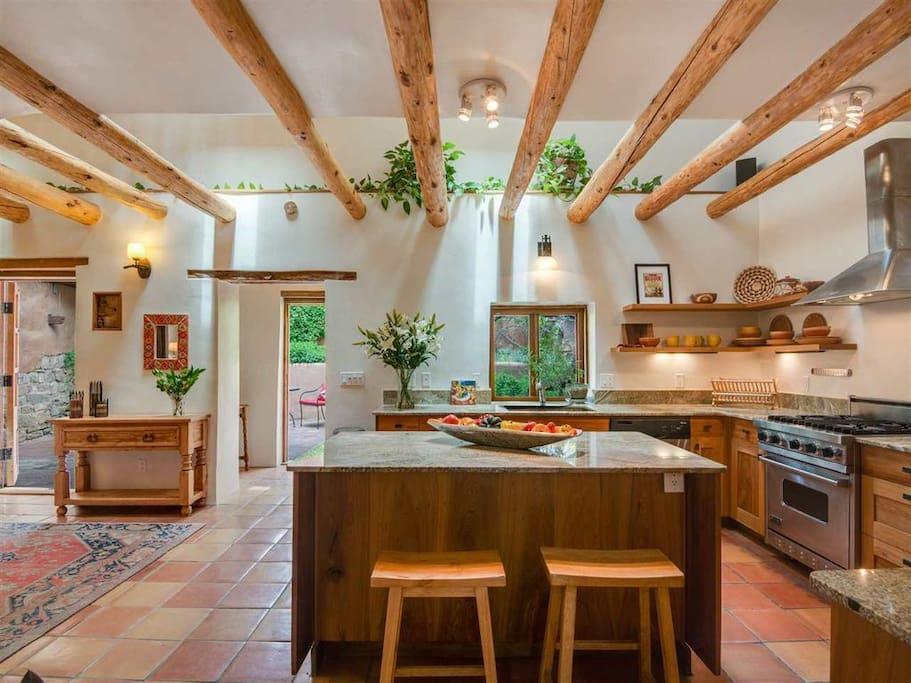 Modern kitchen with Viking range