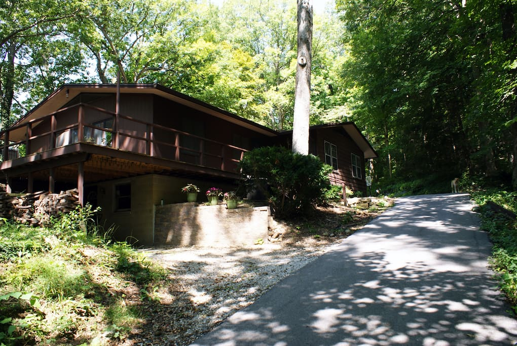 Woodland Chalet Near Purdue University Houses For Rent