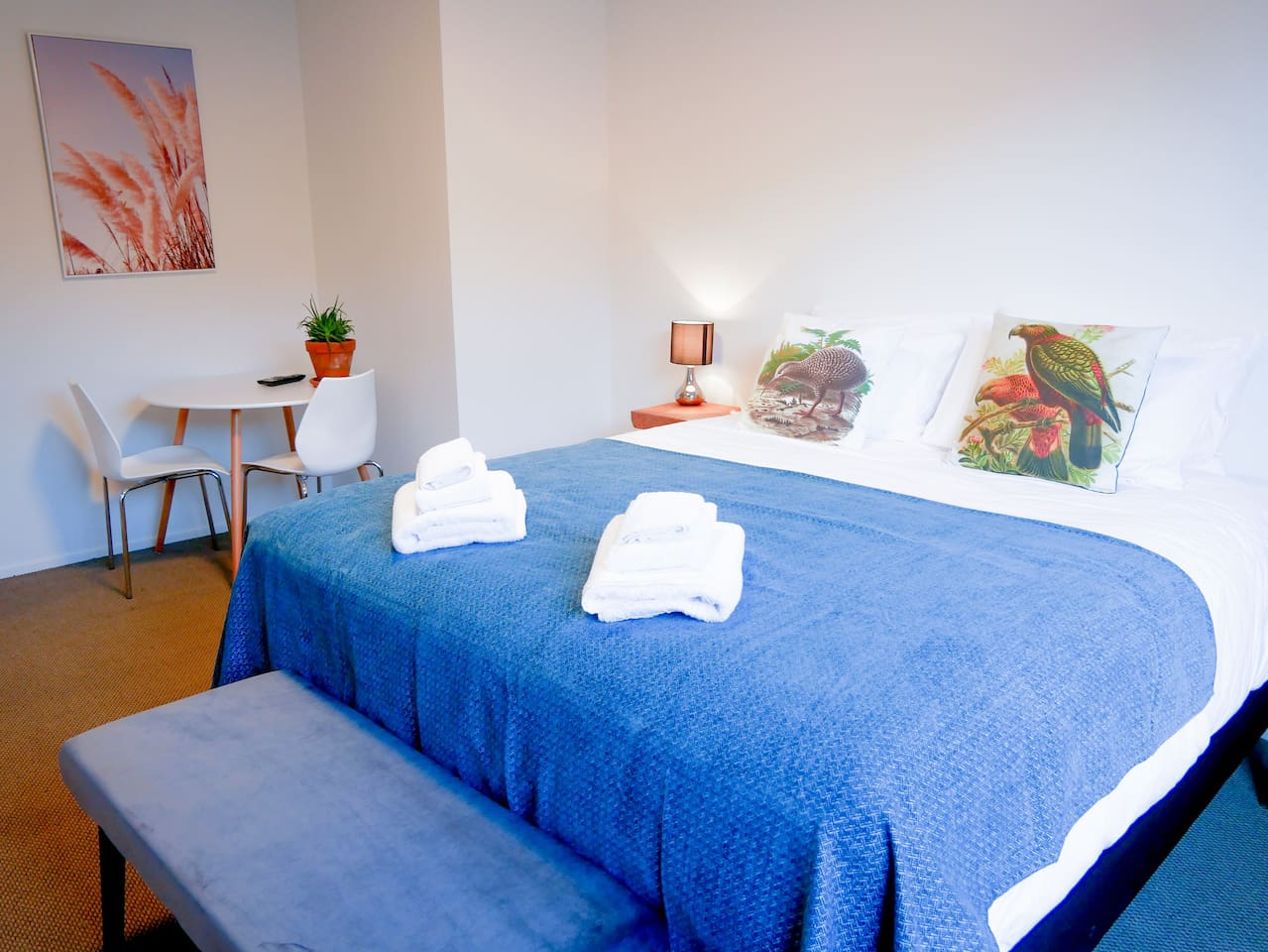 King room with king size bed, ensuite & sitting area, Complimentary continental breakfast included