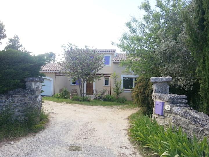 beau gite+piscine drôme provençale