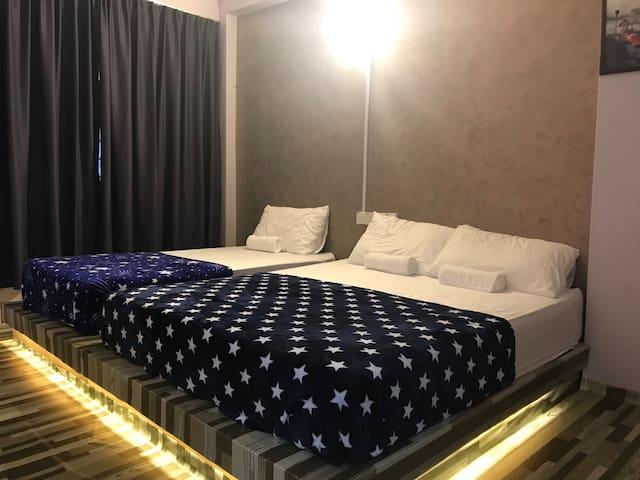 Lunas DIY Homestay (3 pax) WiFi- Unifi