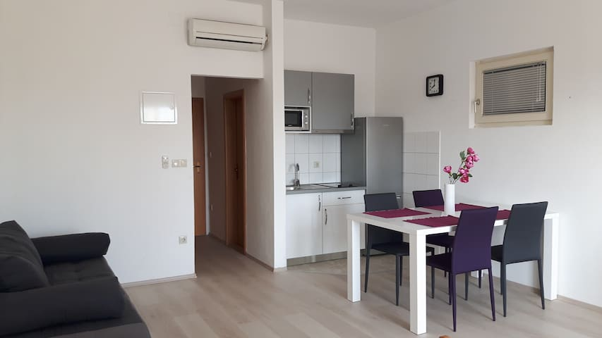 Studio 1, 250 m from beach-PARKING - Mlini - Daire