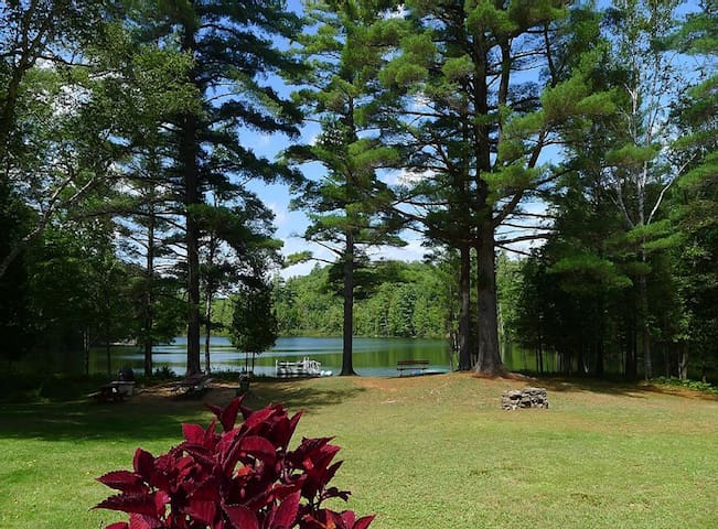 Gore Mt & Ordway Pond Cabin *PRIVATE 10 ACRE LAKE*