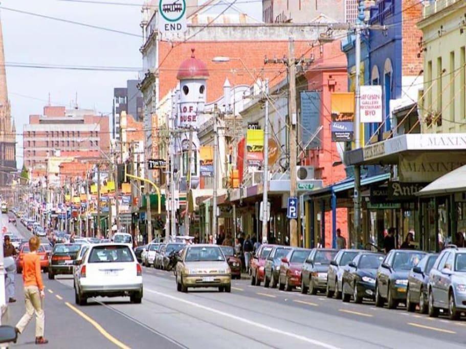 Brunswick street.