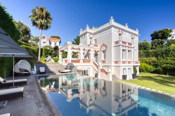 Villa Romana piscine/vue mer/ 420m2
